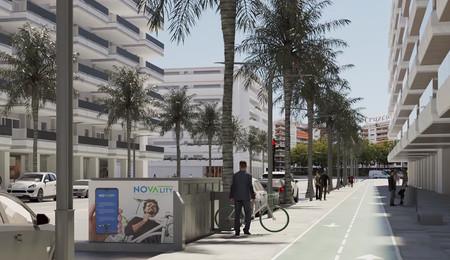 Así funciona el parking subterráneo para bicicletas y patinetes eléctricos que ha creado un empresa española