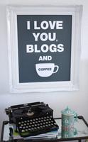 Poster para amantes de blogs