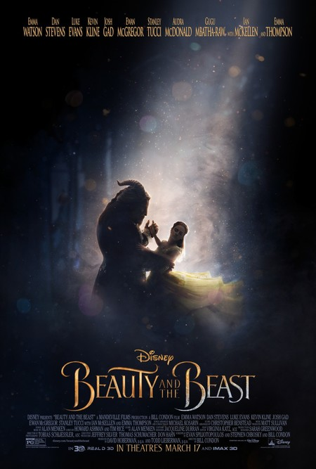 Póster final de Beauty And The Beast