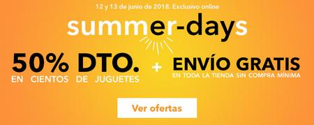 Toys `r us celebra los summer days con descuentos de hasta el 50% en cientos de juguetes y envío gratuito