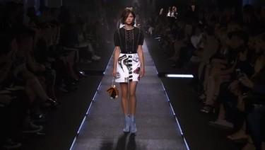 Una española, Alba Galocha, desfila para Louis Vuitton
