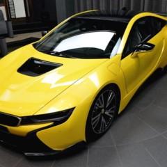 Foto 11 de 16 de la galería bmw-i8-amarillo en Motorpasión