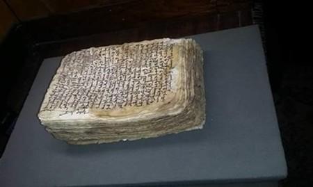 Se encuentra una receta de Hipócrates en un libro de cuero de un monasterio