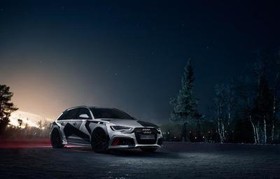 Jon Olsson elige un Audi RS6 Avant para este invierno
