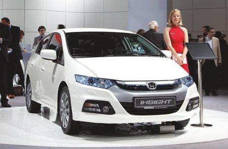 Honda Insight 2012, presentado en Fráncfort