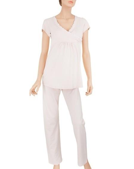 prenatal pijama rosa