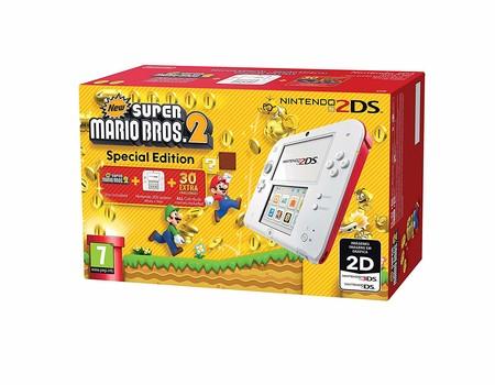 Consola Nintendo 2DS, con Super Mario Bros 2 o Tomodachi Life, por sólo 69,95 euros en el Black Friday de eBay