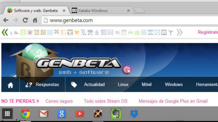 Chrme 32 para Windows 8, añadiendo aplicaciones