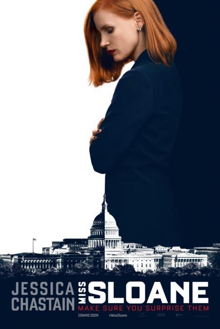 Miss Sloane Cartel Jessica Chastain