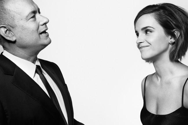 Tom Hanks y Emma Watson portada de Esquire