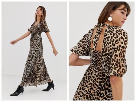 Vestido Leopardo Maxi
