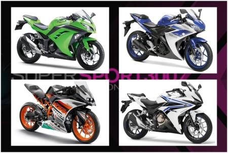 Supersport300 Kawasaki Ninja300 Yamaha R3 Ktm Rc390 Honda Cbr500r