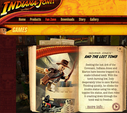 Juega con Indiana Jones online