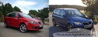 Comparativa: SEAT Altea XL 1.8 TFSI contra Volkswagen Touran 1.4 TSI (parte 3)