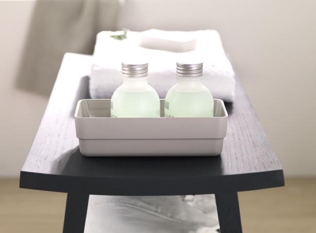 B-BOX colección de muebles para aprovechar el espacio en el cuarto de baño