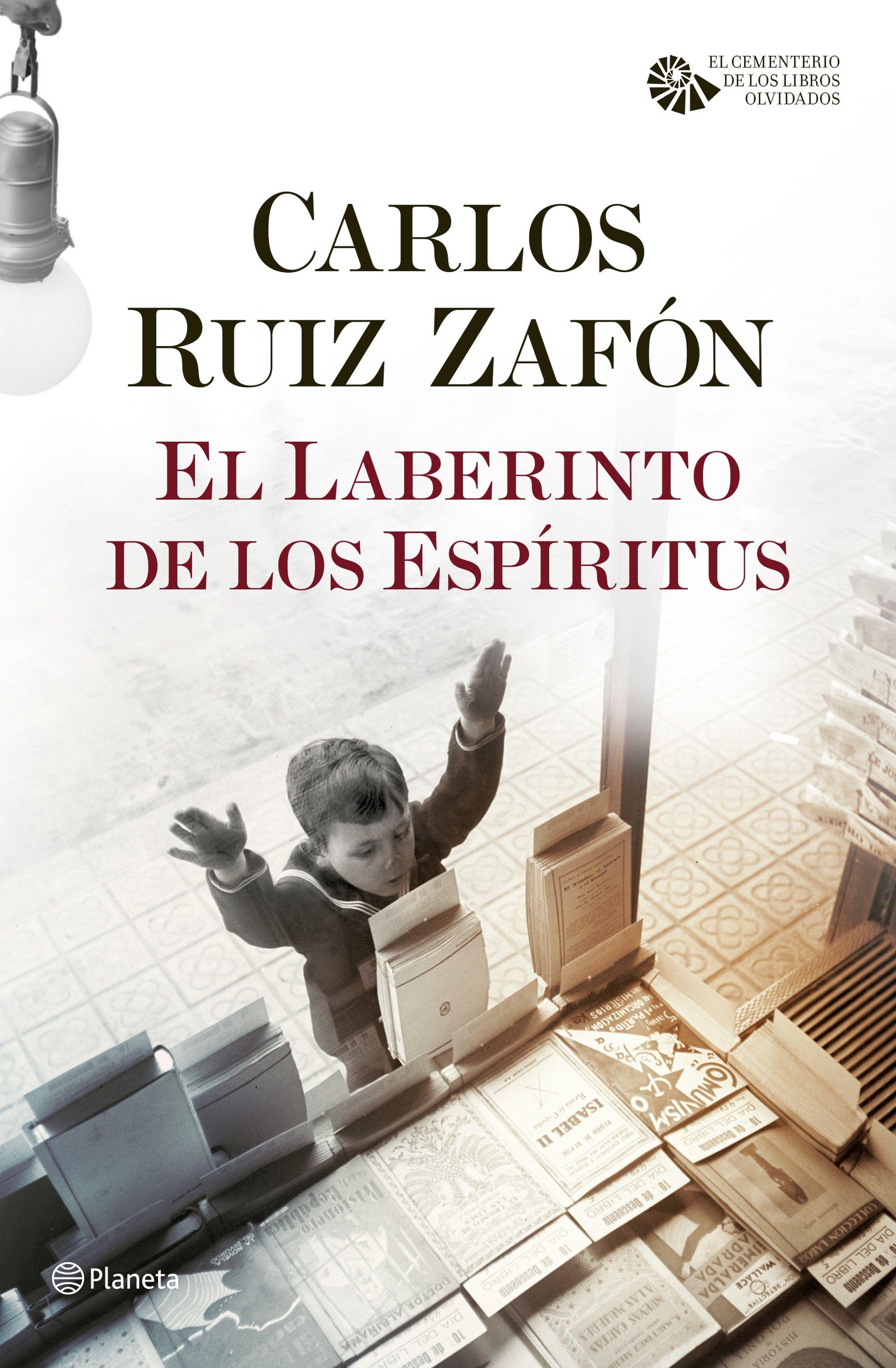 El laberinto de los espíritus, Carlos Ruiz Zafón
