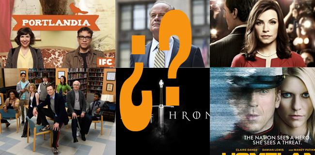 Mejores series Temporada 2011 2012