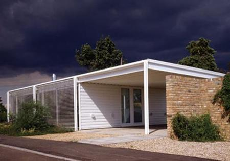 Casas que inspiran: un chalet minimalista