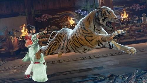 El pasado contrasta con el futuro de Tekken 7