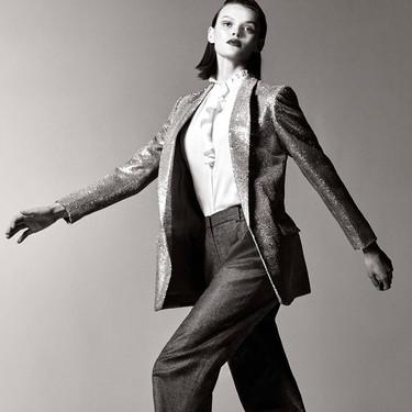 Los looks de fiesta de Massimo Dutti tienen la mezcla perfecta entre sastrería masculina y feminidad