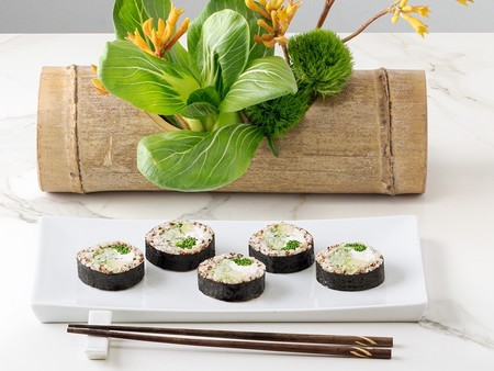 Sushi Daily, el sushi de venta en Carrefour, ya tiene línea vegetariana: lo hemos probado y os contamos sus características a nivel nutricional