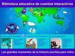 La aplicación Blue Planet Tales que enseña historia a los niños mientras se divierten