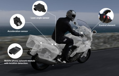 BMW presenta su sistema de llamadas de emergencia para los motociclistas