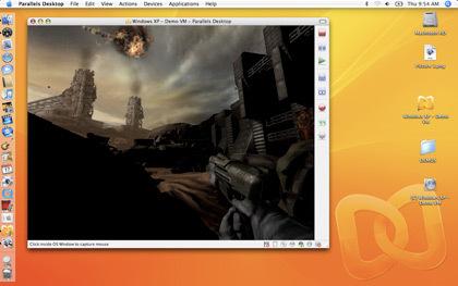 Parallels Desktop 3.0 con SmartSelect y soporte 3D