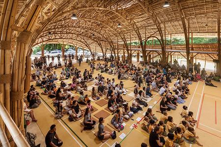 Bamboo Sports Hall 4