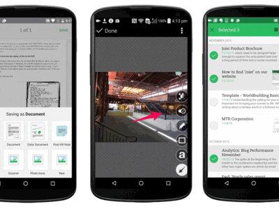 Evernote para Android estrena digitalizador inteligente y añade las anotaciones de Skitch