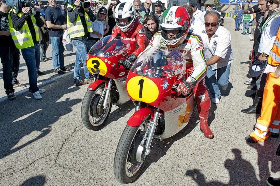 Angel Nieto Giacomo Agostini 2