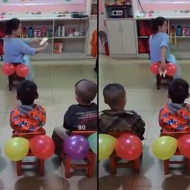 El curioso método de una profesora para enseñar a los niños a limpiarse solos (y cómo enseñarles desde casa esta importante lección)