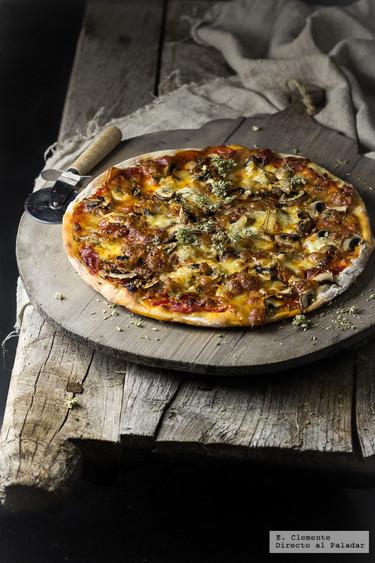 Receta de masa de pizza casera: Receta fácil