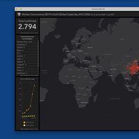 Este mapa interactivo muestra todos los casos confirmados de coronavirus de Wuhan