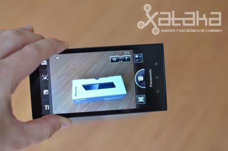 Panasonic Eluga como cámara de fotos