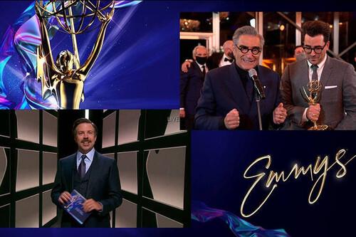 Emmy 2020: 'Schitt's Creek' y HBO dominan una noche con pocas sorpresas en una gala virtual más divertida de lo habitual