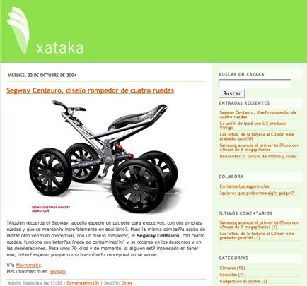 Imagen de la semana: el cambio de Xataka