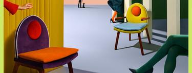 Alerta deco: Abe the Ape da el salto al diseño de muebles con las sillas 'Ping' y 'Pong'