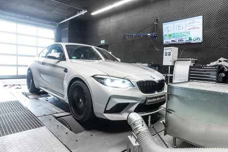 El BMW M2 Competition de mcchip-dkr o cómo exprimir hasta los 600 CV el compacto alemán