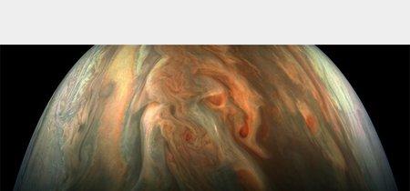 Este primer plano de Júpiter 'solo' está tomado a 7.776 km