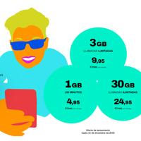 Mobilfree, nuevo virtual que replica las tarifas de Oceans con hasta 30 GB por 24,95 euros