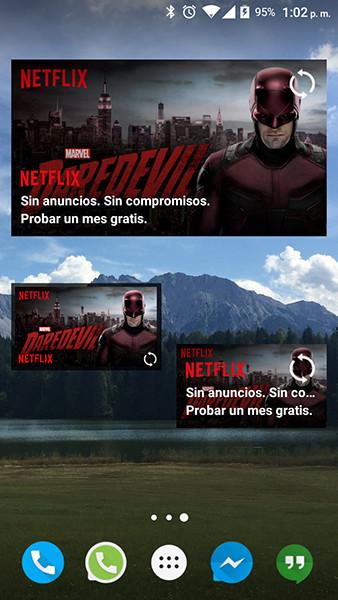 Netflix Widget