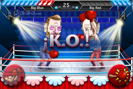 lucha de politicos