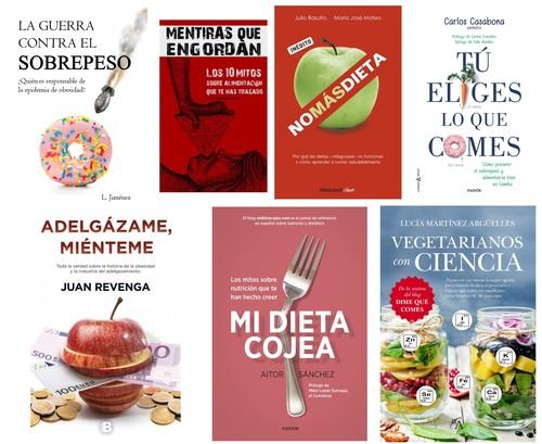 Los siete libros de nutrición que tienes que leer para empezar a comer mejor