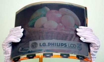 Papel electrónico tamaño A4 de LG Philips