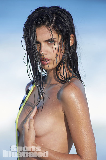 Sara Sampaio Topless Sports Illustrated