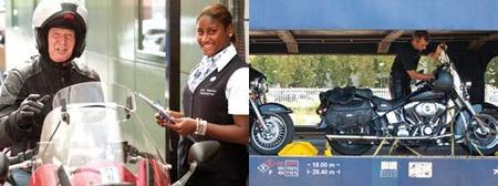 Viajar en tren con tu moto, misión imposible en España