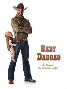 [Inocentada 2014] El primer portabebé pensado para papás: por fin el bebé en la cadera