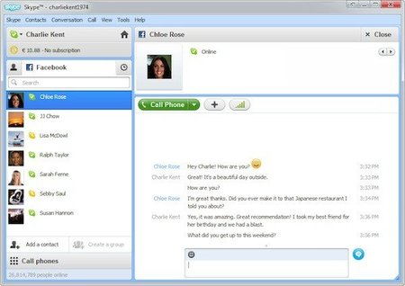 Skype 5.5 para Windows listo y con mejor integración con Facebook