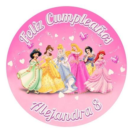 Oblea Tarta Princesas